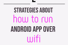 how to run android app over wifi in android studio